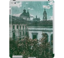 Colonial Architecture at Historic Center of Bogota Colombia iPad Case/Skin