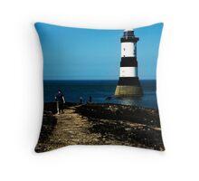 Pen Mon Lighthouse Throw Pillow
