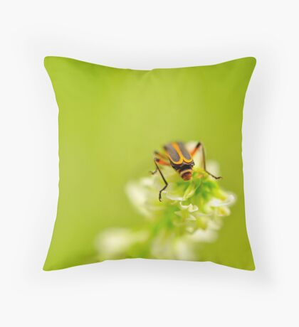 Hanging About Throw Pillow