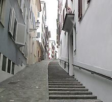 Zurich's lonely stairs by Germany