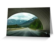 Wildlife Overpass Greeting Card