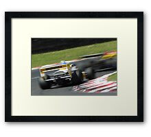 Abstract Motorsport Framed Print
