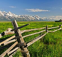Fence by JimGuy