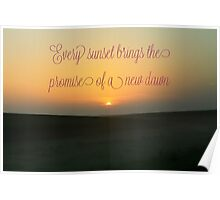 Every Sunset Poster