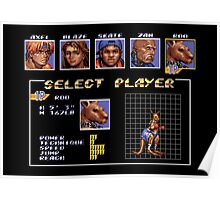 Streets of Rage 3 – Select Roo Poster