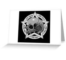 Skull Little Utopia Greeting Card