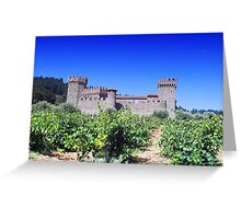 Castle Winery Greeting Card