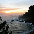 Coastal Sunset by RoySorenson