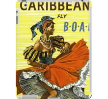 Caribbean Vintage Travel Poster ~ Fly BOAC Airline ~ 0574 iPad Case/Skin
