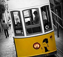 Taking the Tram with Audrey Hepburn by Caroline Fournier