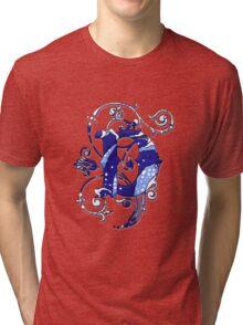 Surfin' Waves Alpha 'D' Tri-blend T-Shirt
