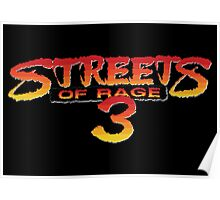 Streets of Rage 3 – Title Screen Poster