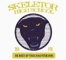 Skeletor High School One Piece - Short Sleeve