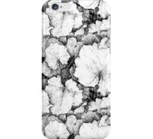 Tussilago Leaves Pattern iPhone Case/Skin