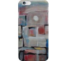 Acrylic Painting on Canvas by Chicago Artist Gary Bradley iPhone Case/Skin