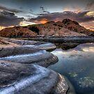 1 2 3 Sunset by Bob Larson