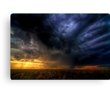 Storm over Nebraska Canvas Print