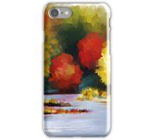 Autumn Landscape - Abstract Art iPhone Case/Skin