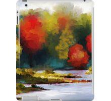 Autumn Landscape - Abstract Art iPad Case/Skin