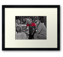 Is that a challenge?! Framed Print