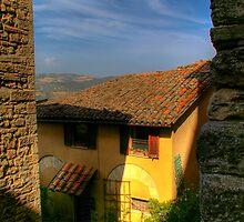 Todi, Italy by Michael Covino
