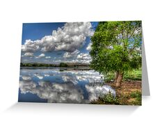 Off Shore Sky Greeting Card
