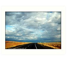 The Road  New Mexico Art Print