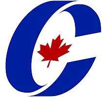 Conservative Party of Canada Logo Photographic Print