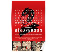 Bird Person Poster