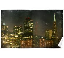 The Bright City Lights Poster