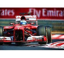 Ferrari Formula 1 Photographic Print