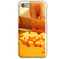 Medium Dice Cheese - Deli Art FOODIE If you like, please purchase, try a cell phone cover thanks iPhone Case/Skin