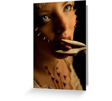 Rachael - Thorns of torture  Greeting Card
