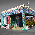 Retired Gas Station by RoySorenson