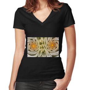 Women's Fitted V-Neck T-Shirt
