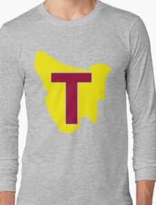 Map of Tassie Long Sleeve T-Shirt