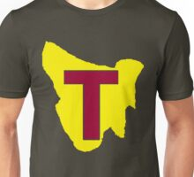 Map of Tassie Unisex T-Shirt