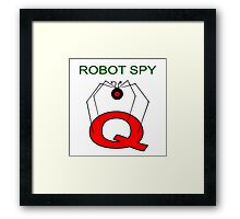 Jonny Quest Robot Spy! Framed Print