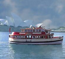 Old Sydney Ferry by BoB Davis