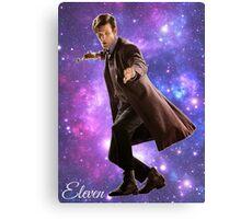 Eleven In Stars Canvas Print
