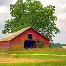 Red Barn - HDR by WTBird