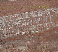 Wrigley's Spearmint Gum! by Sherry Hunt