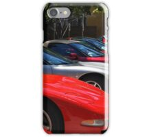 Corvette Event Chicago, IL. iPhone Case/Skin