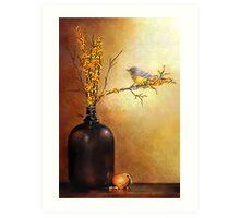 Autumn Warbler  Art Print