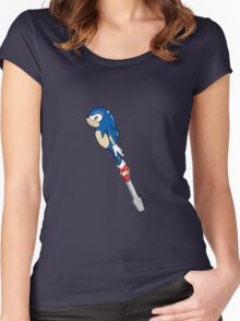 The Doctor's Sonic Screwdriver Women's Fitted Scoop T-Shirt