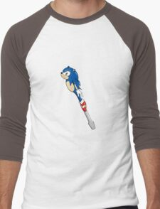 The Doctor's Sonic Screwdriver Men's Baseball ¾ T-Shirt