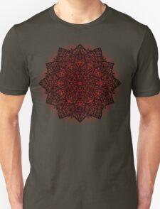 Filigree Mandala *bordeaux* Unisex T-Shirt