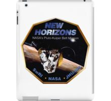 New Horizons Operations Team Logo iPad Case/Skin