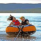 Fast Fun!  Ottawa River by Debbie Pinard