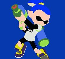 Inkling Boy (Blue) - Splatoon by samaran